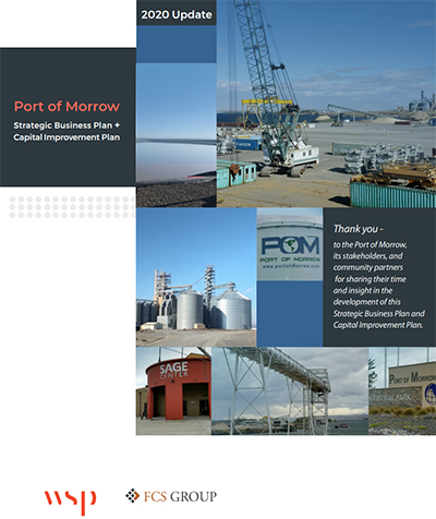 2020 Port of Morrow Strategic Business Plan Cover